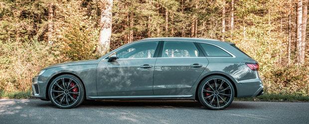Nemtii au tunat primul Audi S4 cu motor diesel din istorie. Ce a iesit