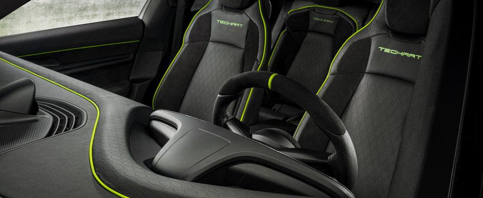 Nemtii au tunat primul Porsche complet electric. Cu cat a crescut puterea celor doua motoare