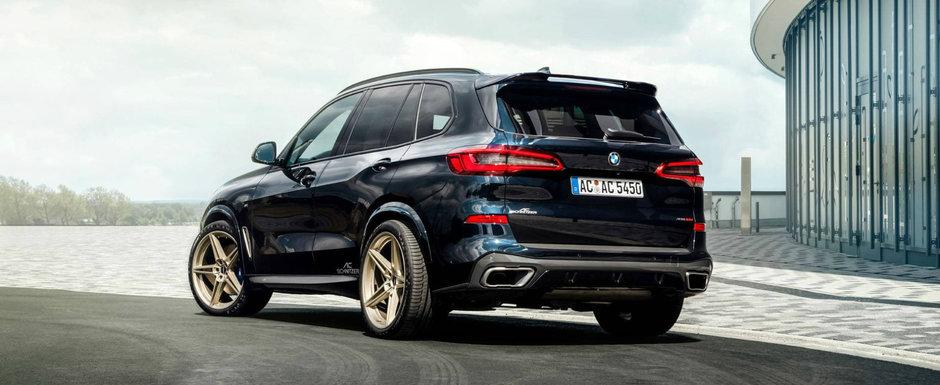 Nemtii de la AC Schnitzer au tunat deja noua generatie BMW X5. Cum arata SUV-ul bavarez