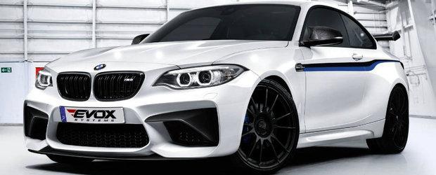 Nemtii de la Alpha-N Performance isi fac de cap cu BMW-ul M2, iar rezultatul este asta