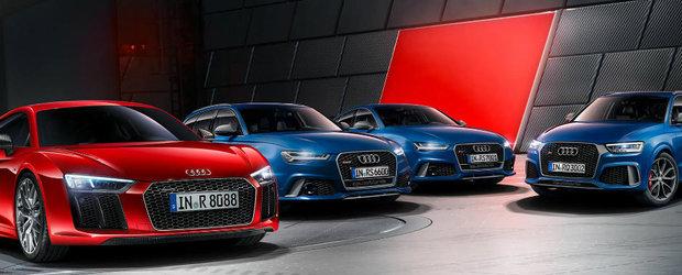 Nemtii de la Audi devin agresivi. Numarul modelelor RS se va dubla in urmatoarele 18 luni