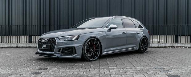 Nemtii de la Audi l-au facut imbatabil, insa nu a fost de ajuns. In cat au dus cei de la ABT noul RS4 Avant