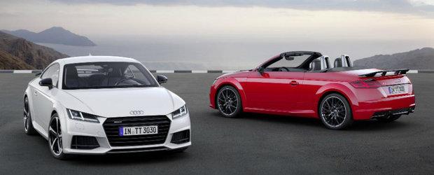 Nemtii de la Audi nu au uitat de micutul TT. Sportiva germana primeste un nou pachet, S Line Competition