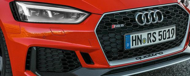 Nemtii de la Audi pun la dieta noile RS4 si RS5. Cum arata acestea cu pachetul Carbon