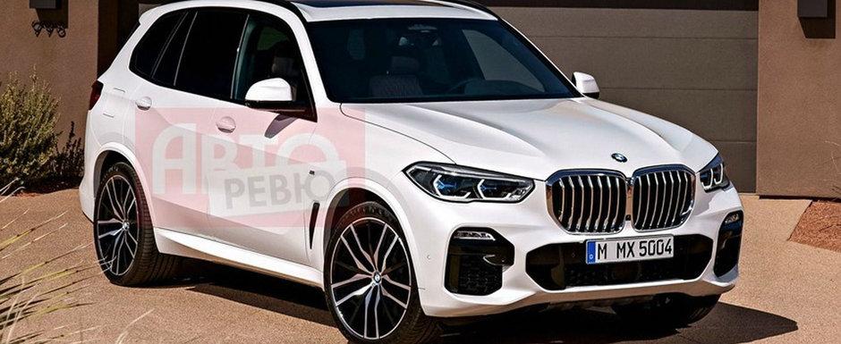 Nemtii de la BMW au pierdut elementul surpriza. Primele imagini cu noul X5 au aparut pe internet