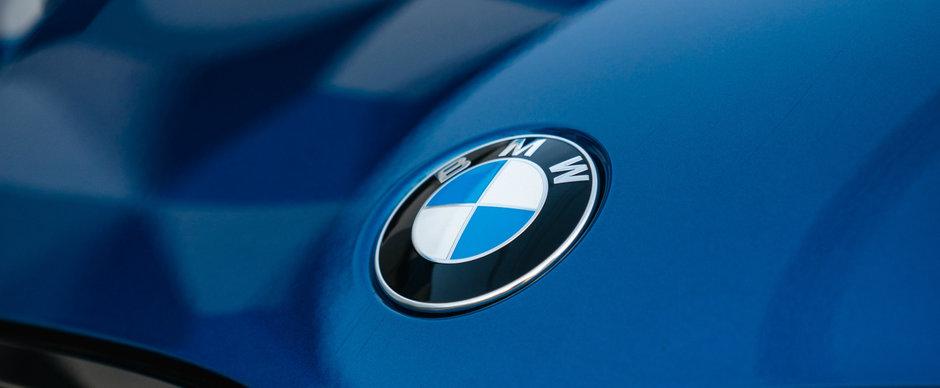 Nemtii de la BMW sunt mandri nevoie mare de noul lor logo. Cum arata si unde il vei putea vedea