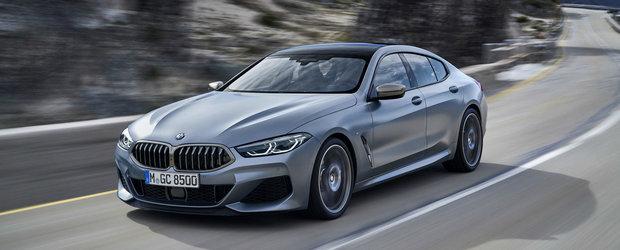 Nemtii de la BMW tocmai au publicat primele imagini oficiale. Acesta este noul Seria 8 Gran Coupe