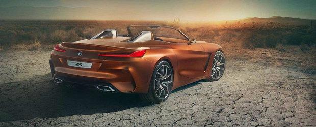 Nemtii de la BMW vor avea un acces de furie. Primele imagini cu noul Z4 au ajuns pe internet mai devreme decat trebuia