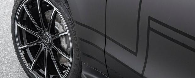Nemtii de la Brabus s-au apucat de tunat primul Mercedes complet electric. Cu cat a crescut puterea celor doua motoare
