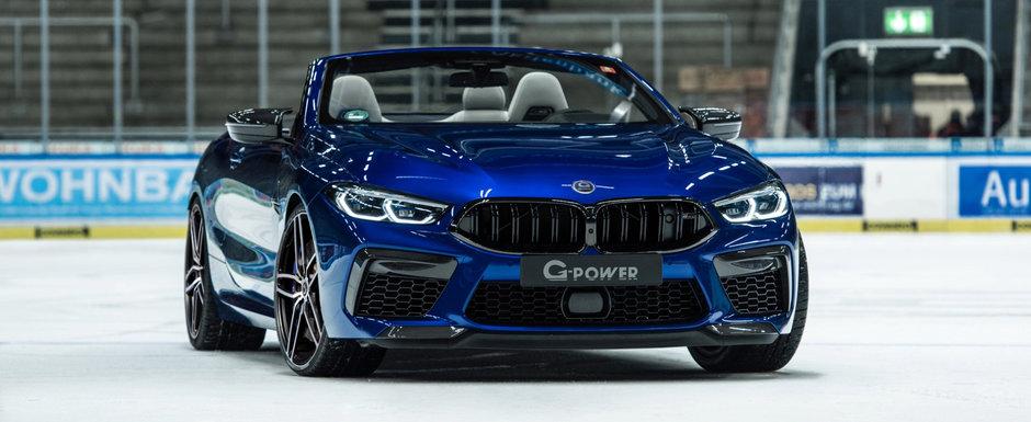 Nemtii de la G-Power au terminat de tunat primul BMW M8 din istorie. Motorul V8 scoate acum 820 de cai si 1.000 de Nm