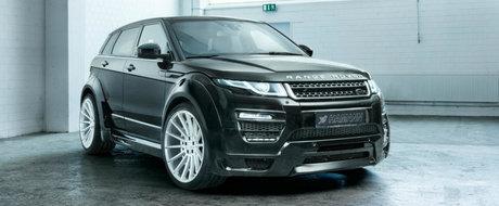 Nemtii de la Hammann propun modificari cosmetice si mai multa putere pentru Range Rover-ul Evoque