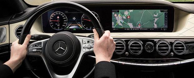 Nemtii de la Mercedes au dezvaluit fara sa vrea bordul noului S-Class