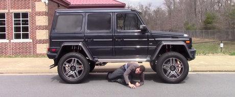 Nemtii de la Mercedes au luat-o razna de tot. Au lansat pe piata un... Monster Truck pentru sosea!