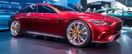 Nemtii de la Mercedes dau din casa: noua generatie CLS si AMG-ul GT in patru usi sosesc anul viitor