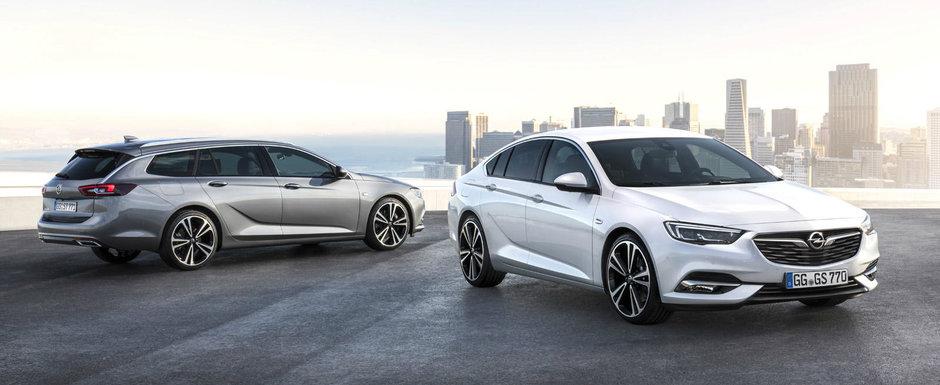 Nemtii de la Opel au anuntat preturile pentru Insignia Grand Sport si Sports Tourer