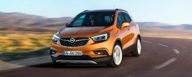 Nemtii de la Opel vin tare din urma si pregatesc mai multe SUV-uri cu 5 sau 7 locuri