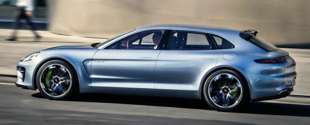 Nemtii de la Porsche s-au sucit. Noul Panamera Sport Turismo va debuta doar anul viitor la Salonul Auto de la Geneva