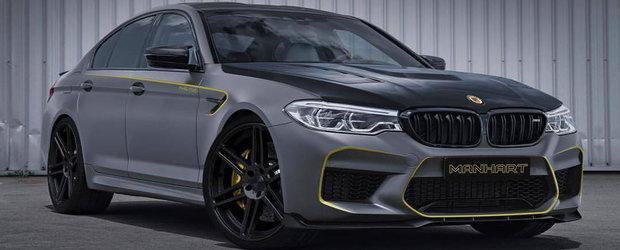 Nemtii nu pierd deloc vremea. Manhart promite deja sa duca noul BMW M5 in 800 de cai