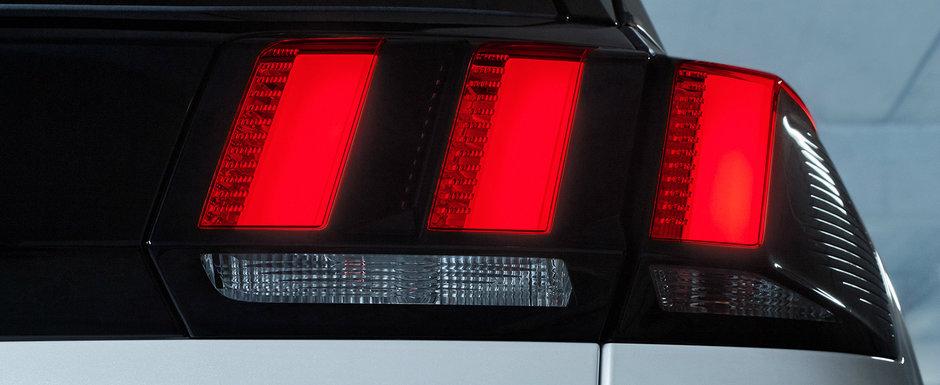 Nemtii nu pot concura cu asa ceva. Noua masina de la Peugeot are 300 de cai sub capota, dar consuma doar 1,3 la suta