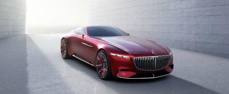 Nemtii nu s-au mai putut abtine, asa ca au dezvaluit conceptul Vision Mercedes-Maybach 6 inainte de lansarea oficiala