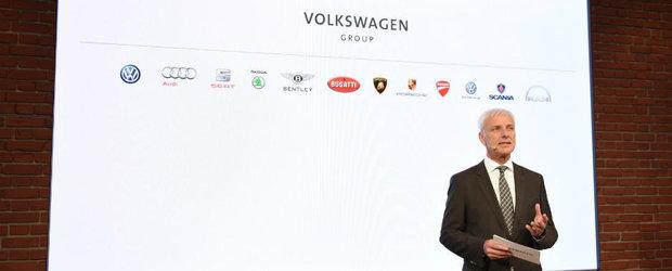 Nemtii nu vand. Grupul Volkswagen ramane intact in urma scandalului Dieselgate