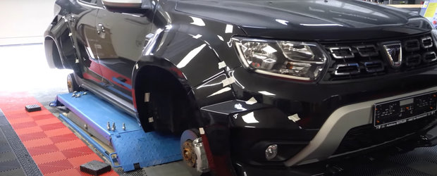 Nemtii s-au apucat de tunat Dacia Duster. Noi fotografii oficiale au fost publicate chiar acum