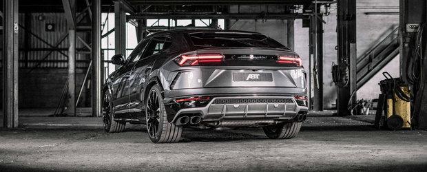 Nemtii s-au apucat de tunat noul Urus, primul SUV din istoria moderna a Lamborghini