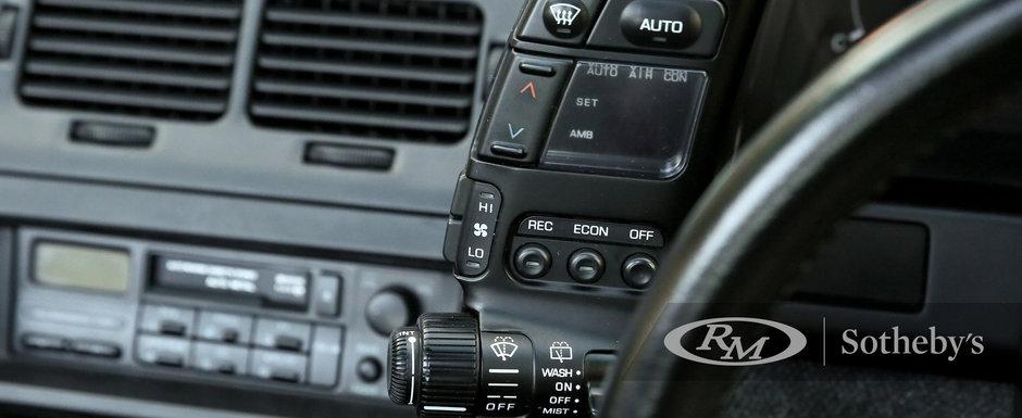 Nemtii se uitau la ea ca la un OZN. Masina din 1990 are motor V6 twin-turbo si directie pe toate cele patru roti