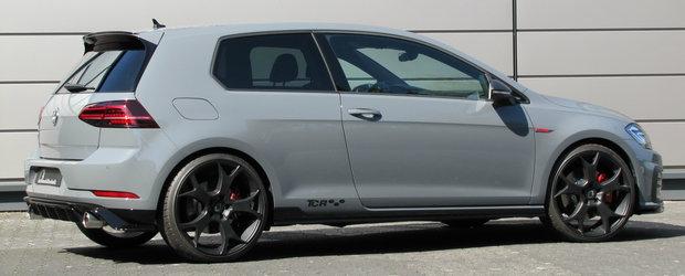 Nemtii si-au facut de cap cu Golf GTI: masina din Wolfsburg are-acum 450 de CAI pe puntea fata