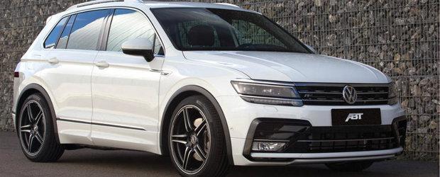 Nemtii sparg primii gheata. ABT Sportsline lanseaza pachetul de tuning pentru noul Volkswagen Tiguan