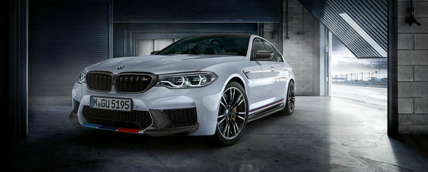 Nemtii te scutesc de un drum in plus. Acum poti comanda noul BMW M5... gata tunat!