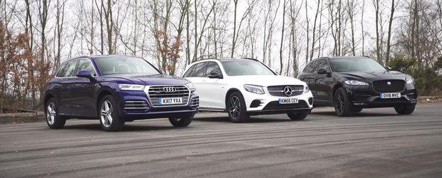 Nemtii vor cu orice pret revansa. Audi si Mercedes cheama la duel Masina anului 2017 in lume