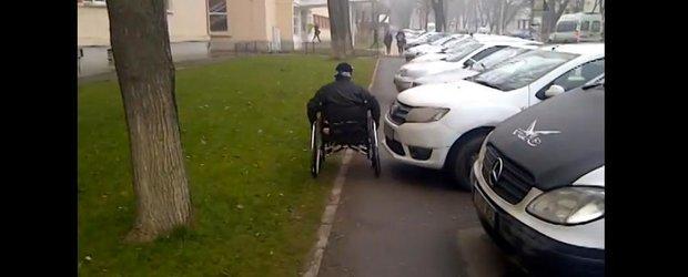Nesimtirea soferilor din Romania: cum fac off-road persoanele cu handicap