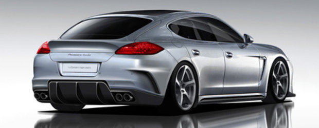 New in the city: Panamera Turbo by Vorsteiner