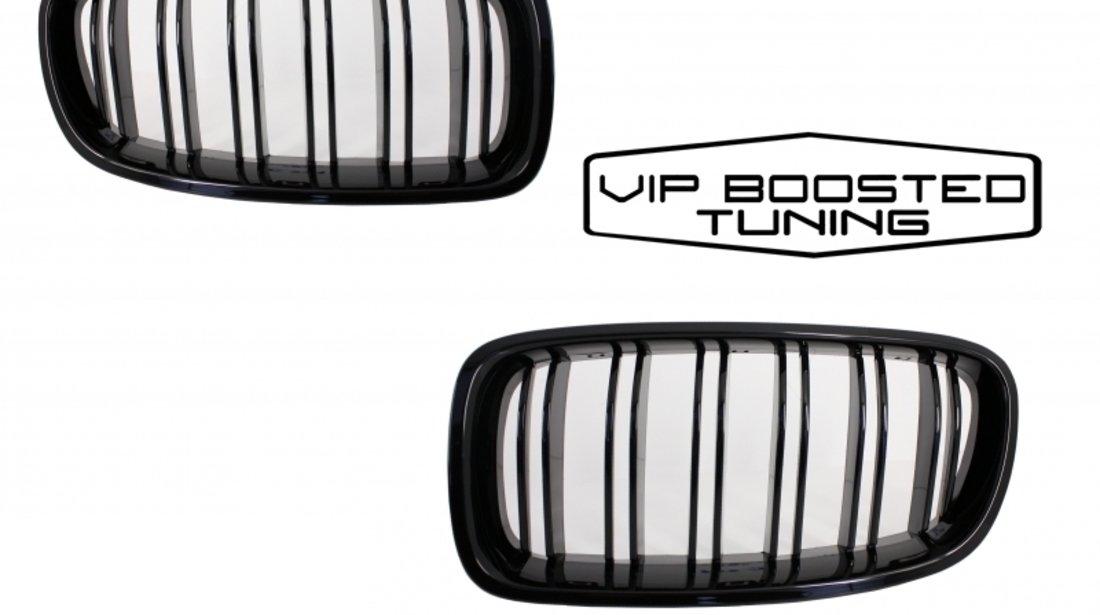 NEW LOOK! Grile Capota BMW F30 F31 (2011-up) Negru Lucios M 3 DESIGN