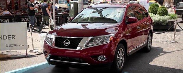 New-yorkezii fac cunostinta cu noul Nissan Pathfinder