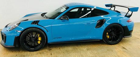 Nici bine n-a cumparat-o ca o si vinde. Pretul exorbitant cerut pe acest 911 GT2 RS cu 797 de km la bord