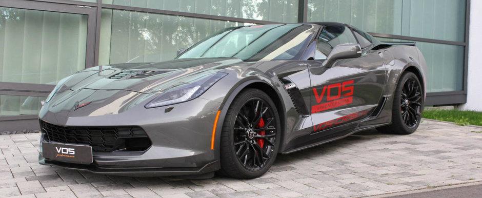 Nici ca-ti va pasa de noul Corvette ZR1. Acest Z06 are 740 de cai si poate fi al tau pentru suma corecta