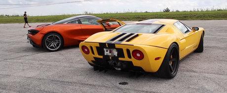 Nici doua turbine nu l-au ajutat sa bata cel mai nou McLaren. Insa sunetul iti va face pielea de gaina