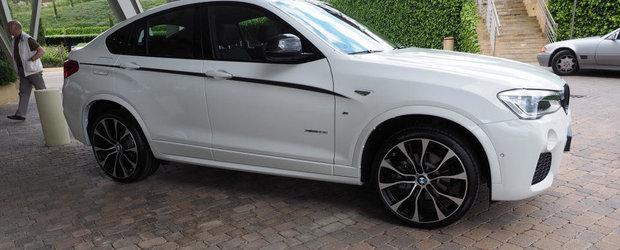 Nici macar pachetul M Performance nu poate imbunatati aspectul noului BMW X4