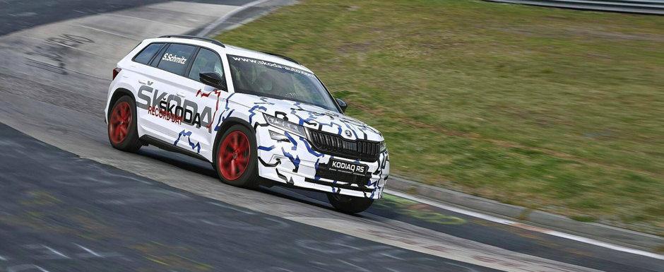 Nici n-a fost lansat, ca are deja un RECORD in cont. Este cel mai rapid SUV cu 7 locuri de pe Nurburgring