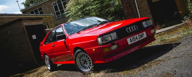 Nici nu va mai conta ca are volanul pe dreapta cand vei afla cine a detinut acest Audi Quattro, care acum este de vanzare