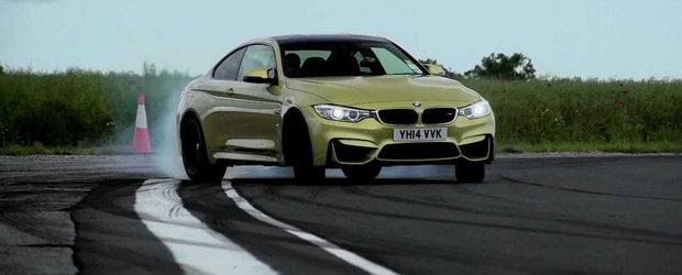 Nici o surpriza: Noul BMW M4 invinge pe circuit actualul Audi RS5