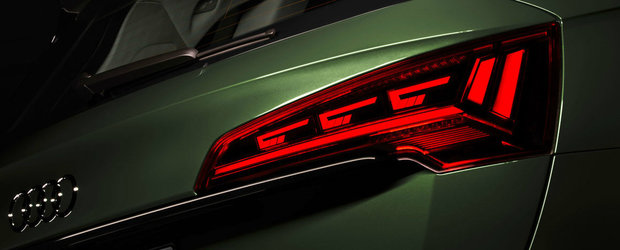 Niciun producator nu mai ofera asta. Stopurile noului Q5 facelift anunta inclusiv masina din spate cand este prea aproape