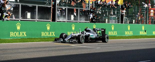 Nico Rosberg castiga intr-una dintre cele mai spectaculoase curse din acest sezon de F1