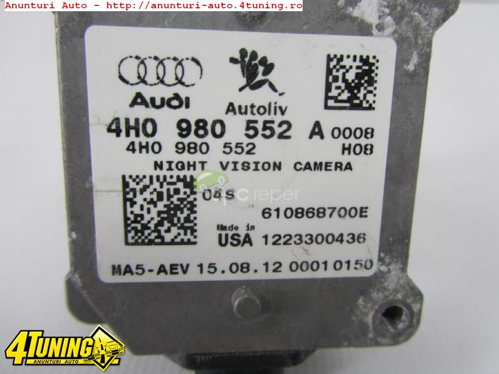 Night Vision Camera Orignala Audi A8 4H A7 A6 4G 4H0998552 A
