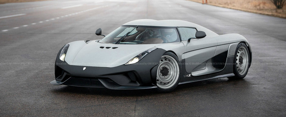 Nimeni nu ar fi crezut ca o sa le vada vreodata asa. Cum arata noile masini de la Bugatti si Koenigsegg cu bare negre si fara jante din aliaj