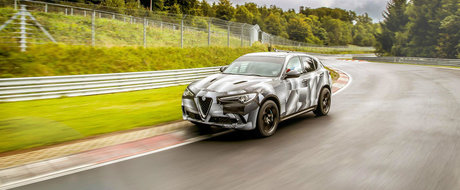 Nimeni nu se astepta la asta. Alfa Romeo Stelvio Quadrifoglio este cel mai rapid SUV de pe Nurburgring