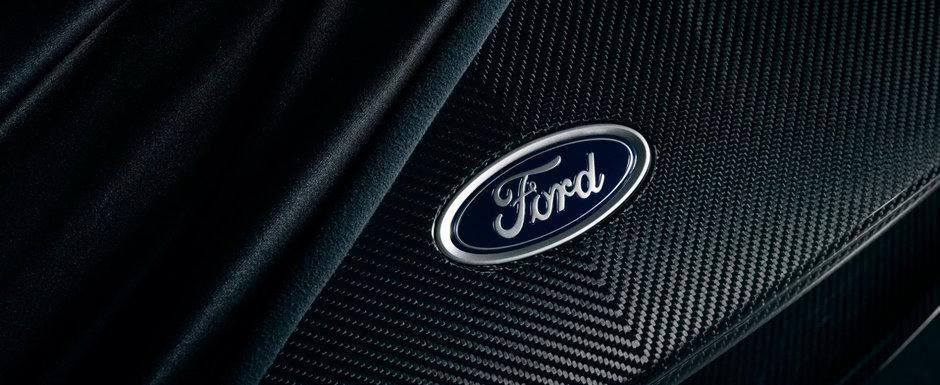 Nimeni nu se astepta la asta. Ford GT a primit mai multi CP si poate fi comandat cu fibra de carbon la vedere