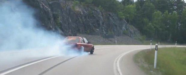 Nimic mai curat si mai elegant: drifturi cu un BMW Ursulet de 563 cp